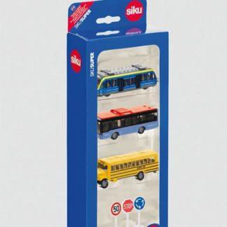 SIKU Super - Set městská vozidla + značky