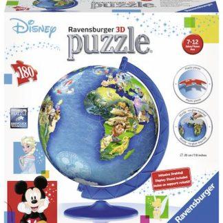 Puzzle 3D Disney Globus 180 dílků