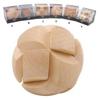 Hlavolamy - dřevěné 3D