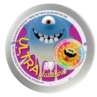 Ultra plastelína 80g UV