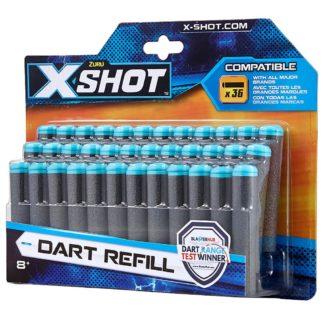 X-SHOT - náhradní náboje tmavé 36 ks