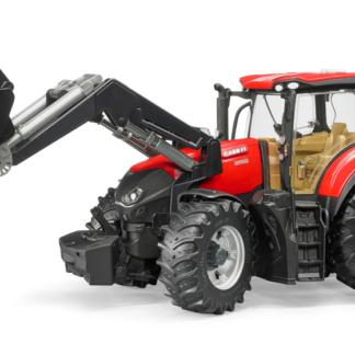 Traktor CASE + čelní nakladač