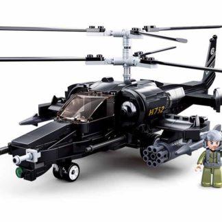 Stavebnice Sluban - Bojový vrtulník Black Shark