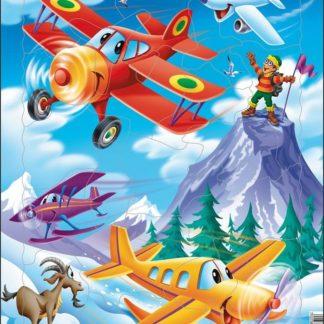 Puzzle Letadla 20 dílků