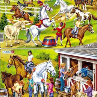 Puzzle Koně 26 dílků