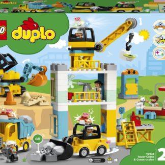 Lego Duplo 10932 Stavba s věžovým jeřábem