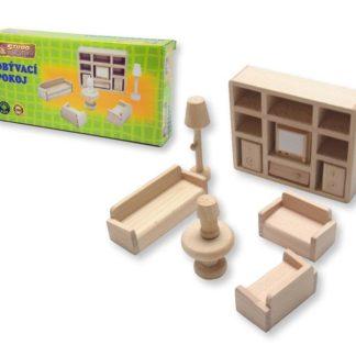 Mini nábytek - obývací pokoj