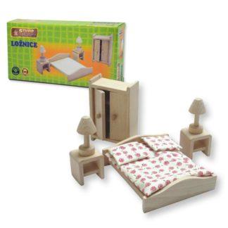 Mini nábytek - ložnice