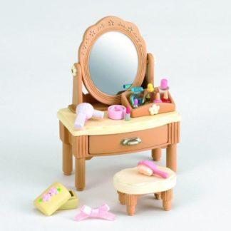 Nábytek - zrcadlový stolek se židličkou