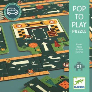 Puzzle - silnice - 21 ks