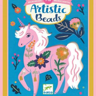 Umělecké korálky -  květinová zvířata