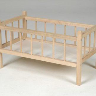 Postýlka dřevěná pro panenky