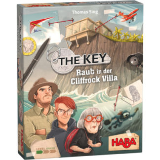 Klíč – Krádeže ve vile Cliffrock