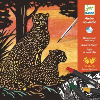 Akvarelový ateliér - divoká zvířata