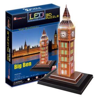 Puzzle 3D Big Ben / led - 28