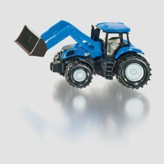 Traktor New Holland s předním nakladačem