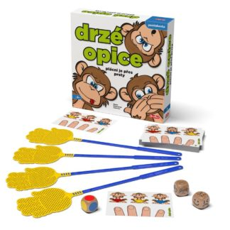 Rodinná hra - Drzé opice