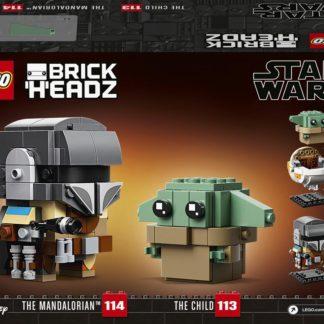 Lego Star Wars Mandalorian a dítě