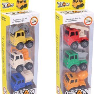 Wiky Vehicles Auta stavební 3 ks