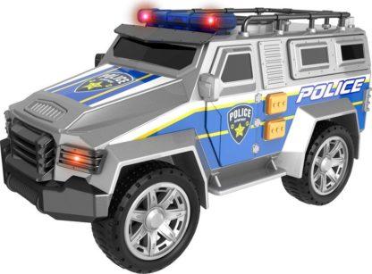 Teamsterz Auto - terénní policejní s efekty 22 cm