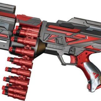 WIKY Pásová puška na pěnové náboje