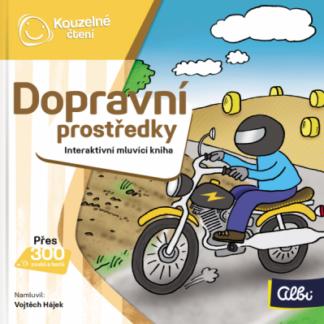 Kouzelné čtení - Minikniha - Dopravní prostředky