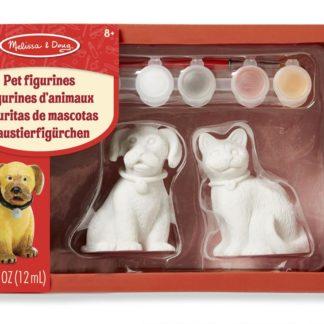 Figurky k vymalování Pes a kočka