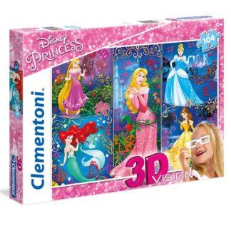 Puzzle 3D 104 dílků Princezny
