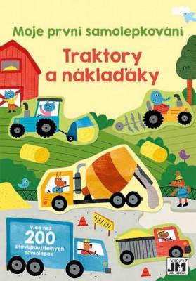 Traktory a náklaďáky - moje první samolepkování